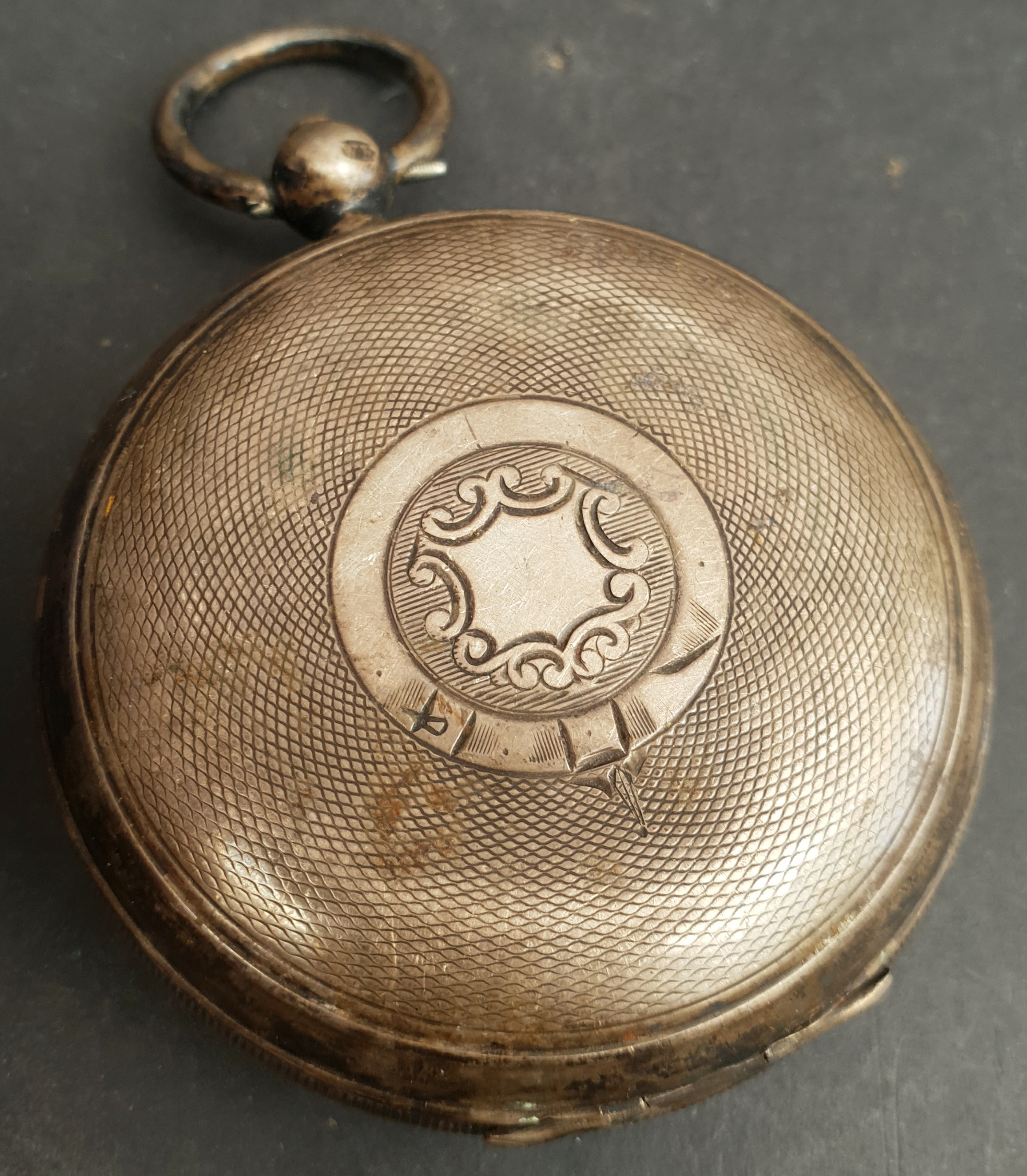 Antiques Silver Cased English Lever Pocket Watch - Image 4 of 4