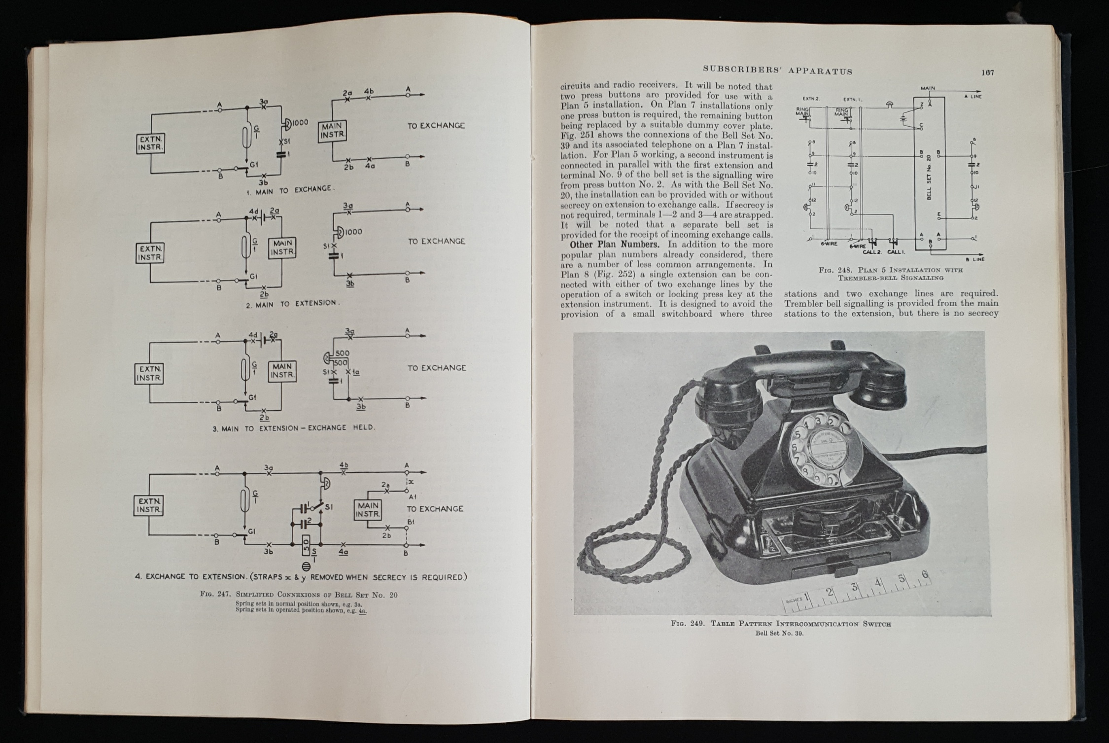 Vintage Books 2 Volumes of Telephony - Image 2 of 3