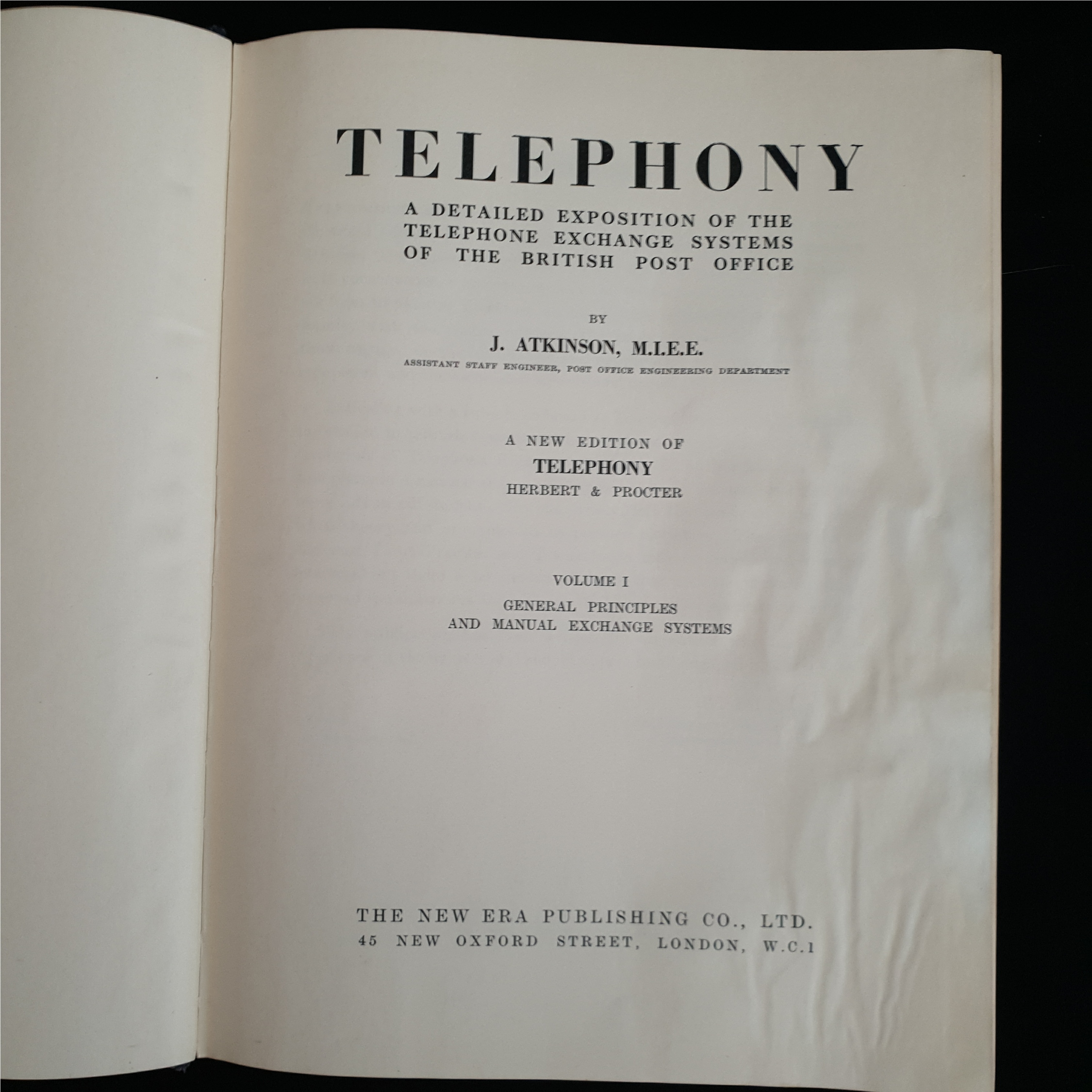 Vintage Books 2 Volumes of Telephony - Image 3 of 3