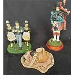 Vintage Parcel of Figures Includes Pendelfin Snuggles
