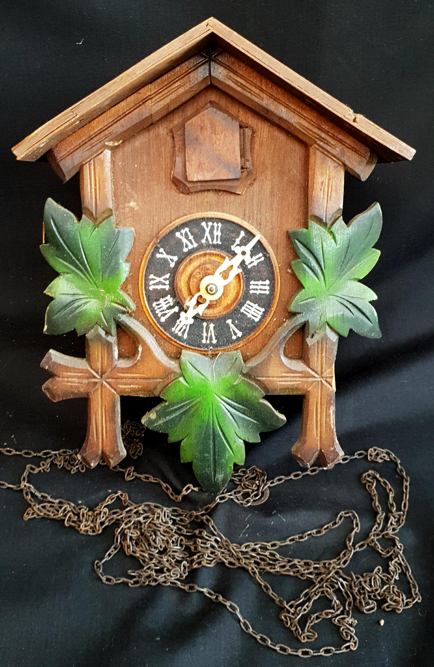 Vintage Cuckoo Wall Clock A/F