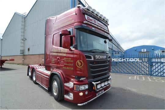 Scania R620 LA6X2MNA EURO 5 V8 STREAMLINE 6X2 TRACTOR UNIT ...