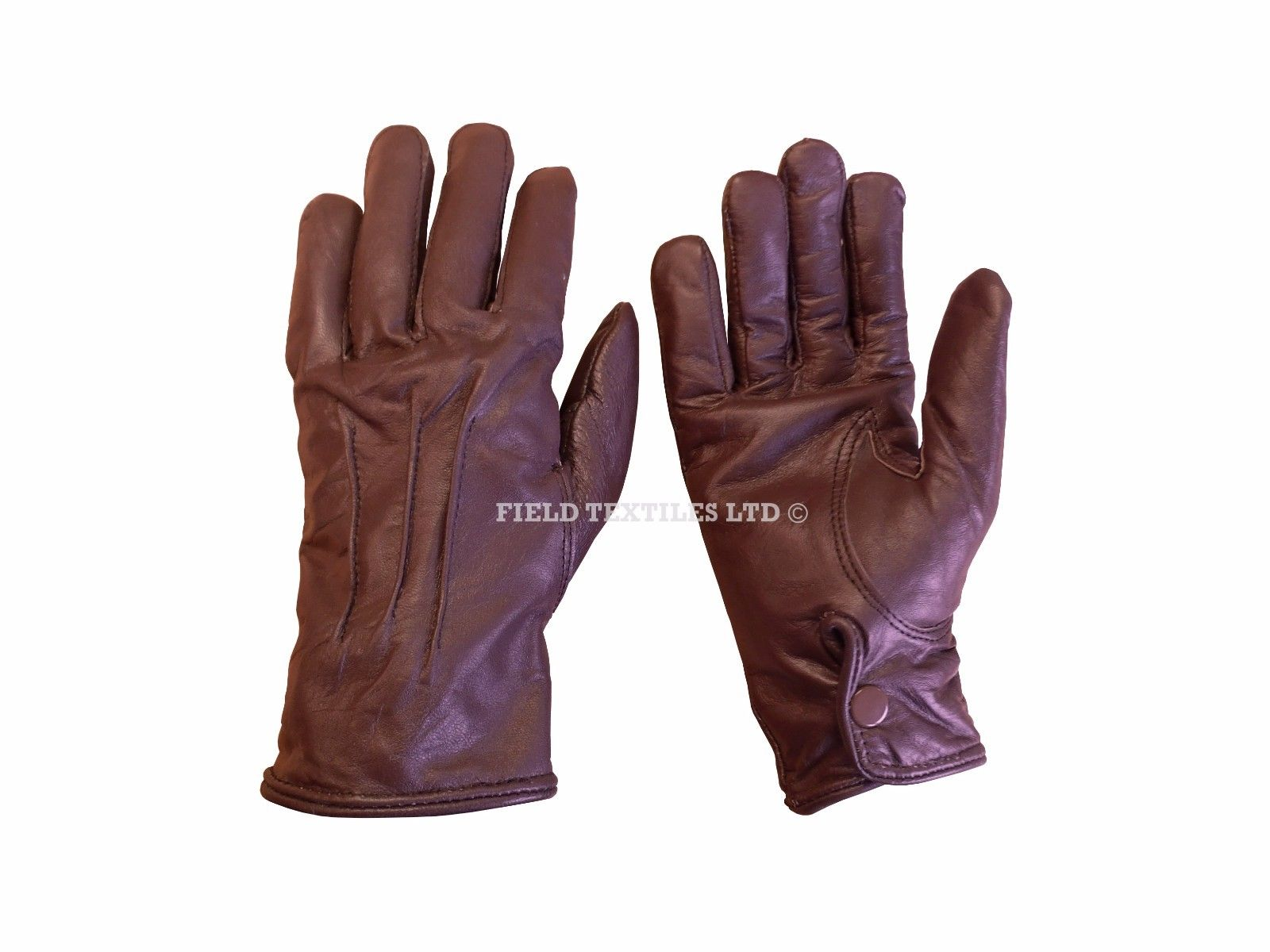 Lot 19 - PACK OF 5 - BROWN GLOVES - NEW - MIX OF SIZES