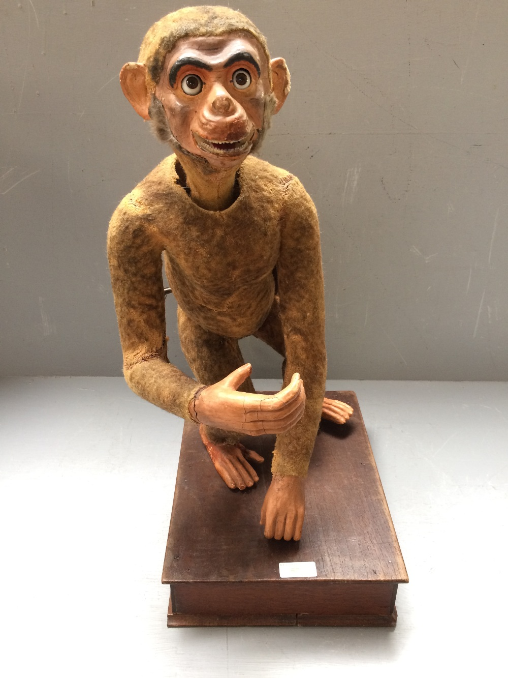 Lot 57 - Victorian musical clockwork monkey