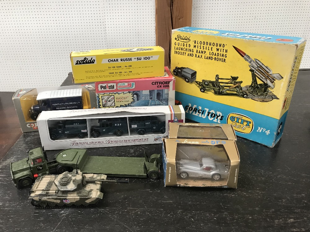 Lot 156 - Collection of die cast toys mainly boxed