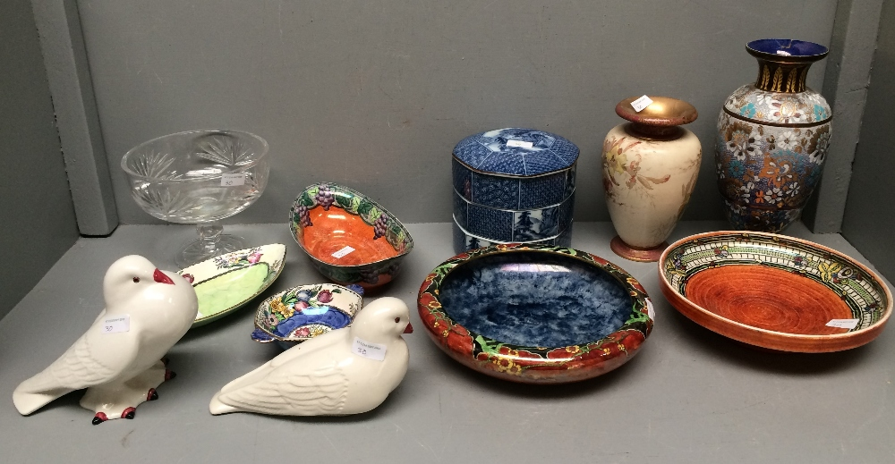 Lot 30 - Assorted china & glass bowls