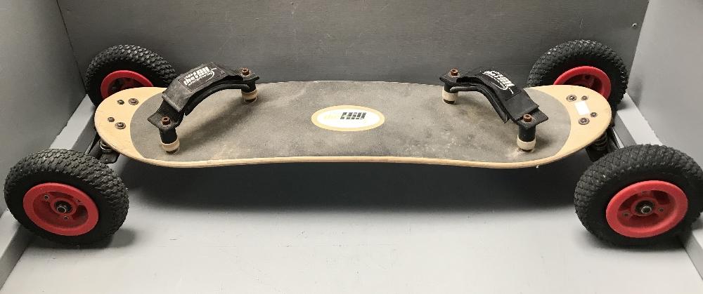 Lot 342 - 1980's Rough terrain skateboard