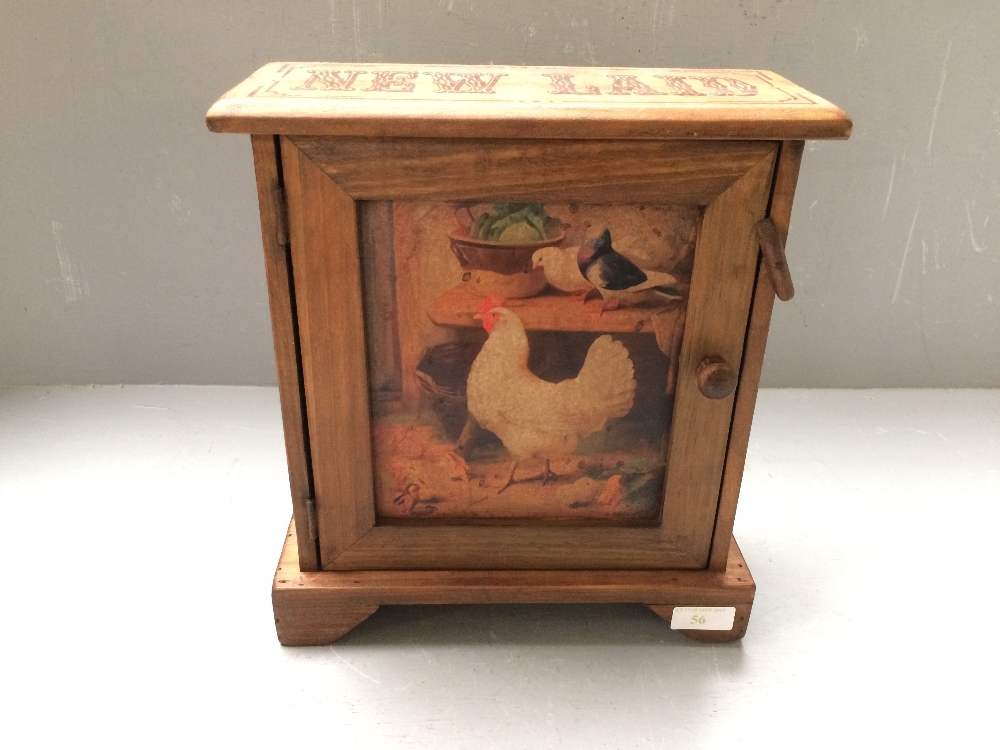 Lot 56 - Victorian style egg cabinet