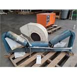 Stephens-Adamson Heavy Duty Trough Conveyor Roller amd Dayton 1.5HP Blower