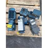 Lot of 4 Assorted Electric Motors