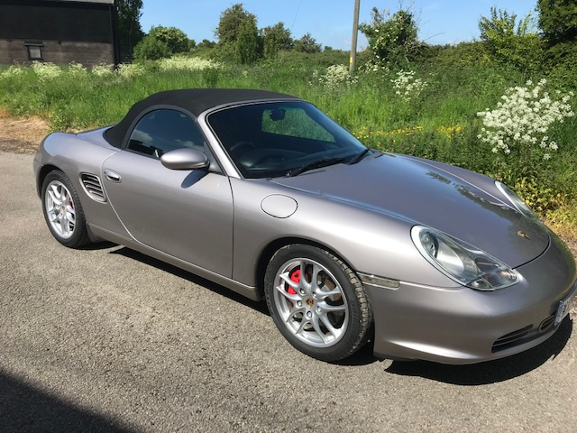 A 2003 Porsche Boxster S Registration number WX53 DVZ Metallic silver, black leather, manual Less - Image 4 of 19