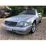 A 1998 Mercedes-Benz 320 SL Registration number S352 LFJ MOT expired March 2020 Metallic silver with