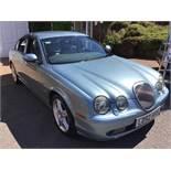 A 2002 Jaguar S Type R