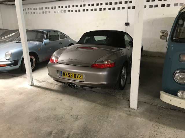 A 2003 Porsche Boxster S Registration number WX53 DVZ Metallic silver, black leather, manual Less - Image 16 of 19
