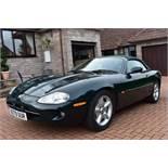 A 1998 Jaguar XK8 convertible Registration number R279 DUR Chassis number SAJJGAFD3AR025856 Engine