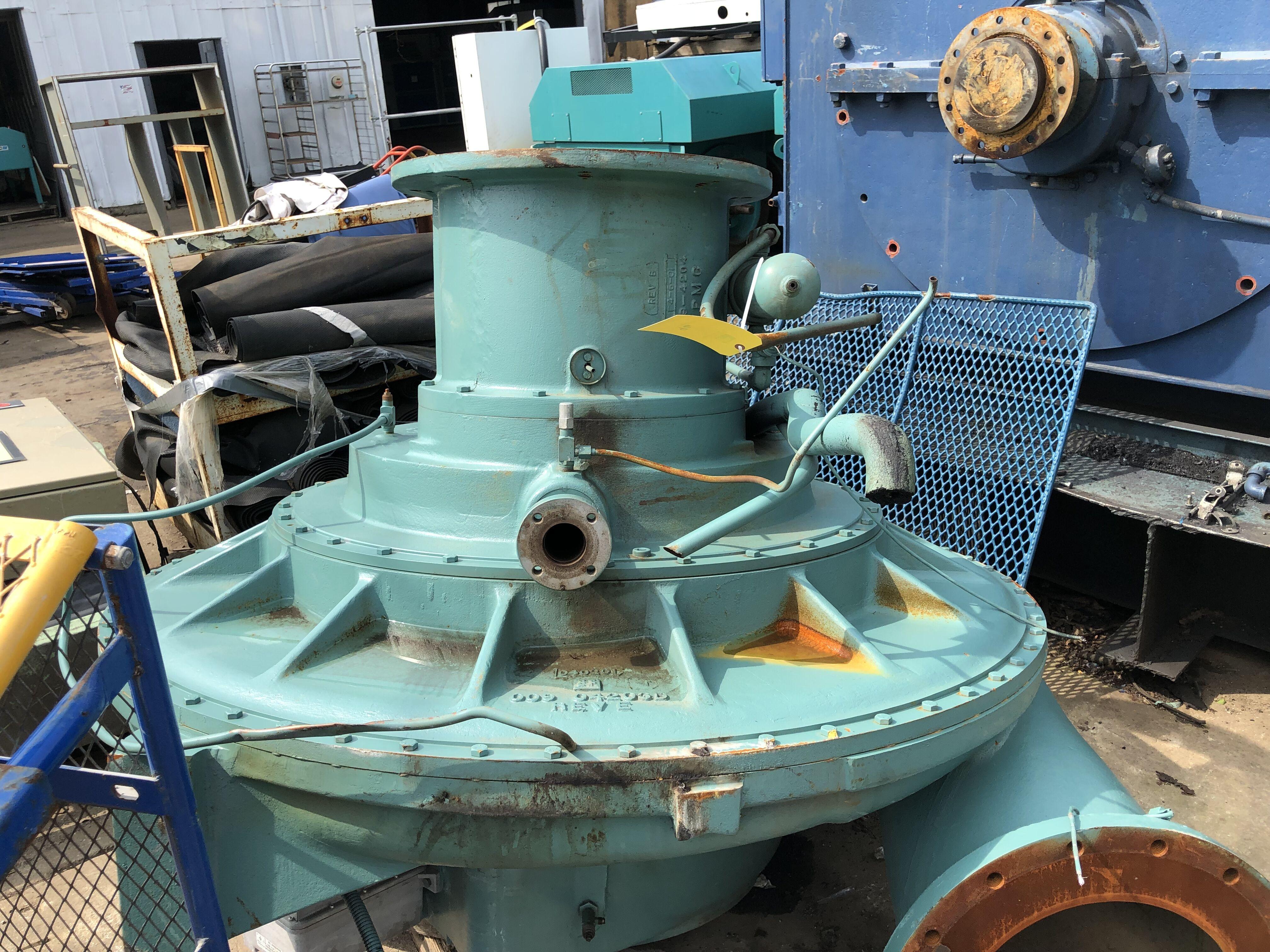 Lot 96 - Parts of York Compressor, Model #YDTL-I44, S/N #6CKC029751, Speed Code #BR (Part of a Chiller)