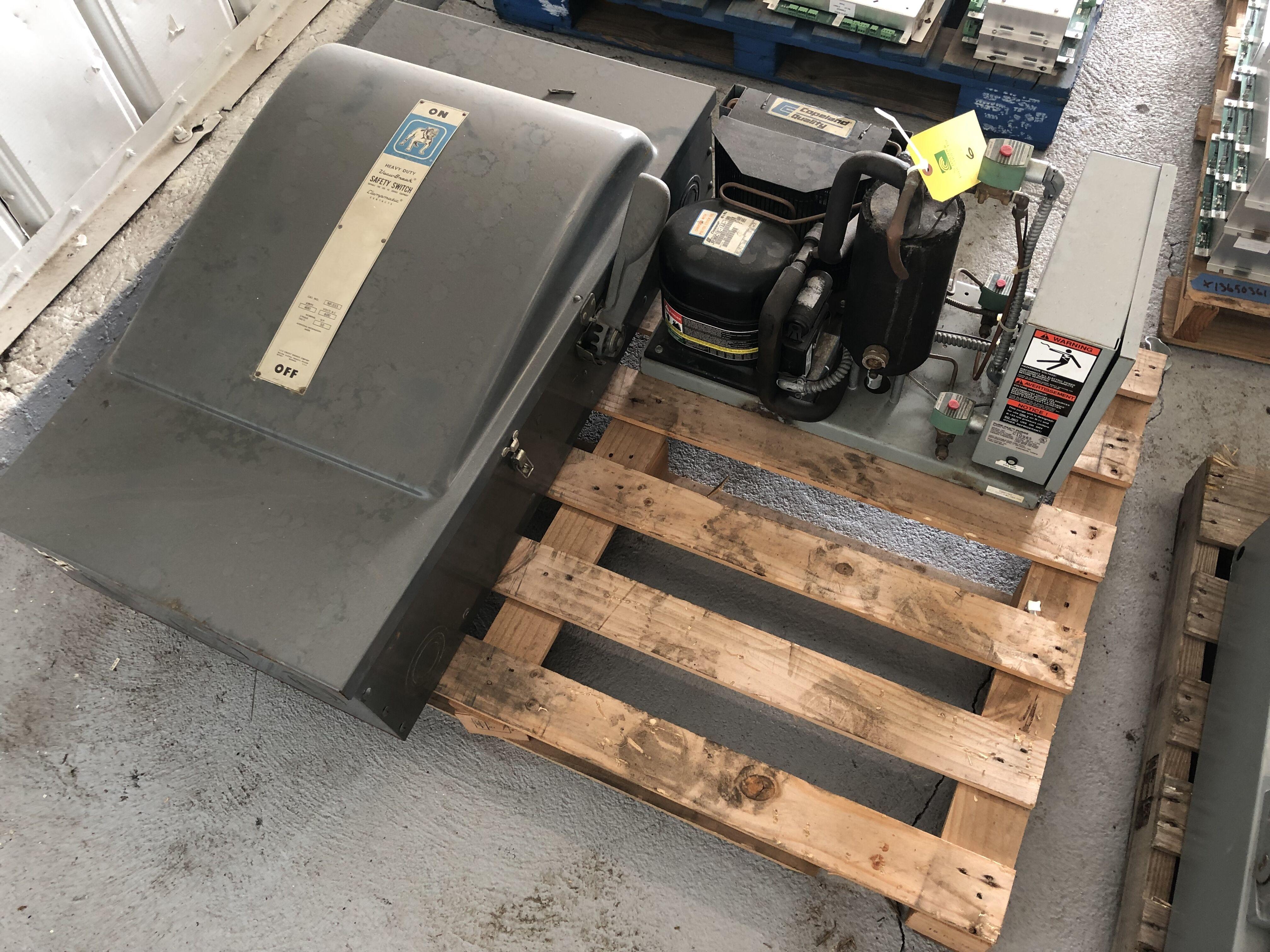 Lot 6 - Copeland Quality, Model #JR36C1E-1AA-100, Heavy Duty Safety Switch