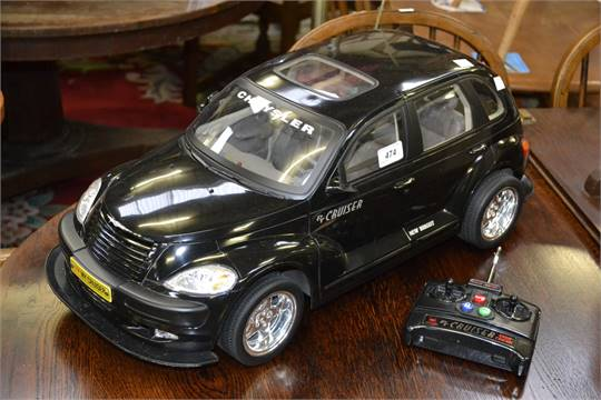 Toys A New Bright Radio Control Chrysler Pt Cruiser Touring Edition With Remote