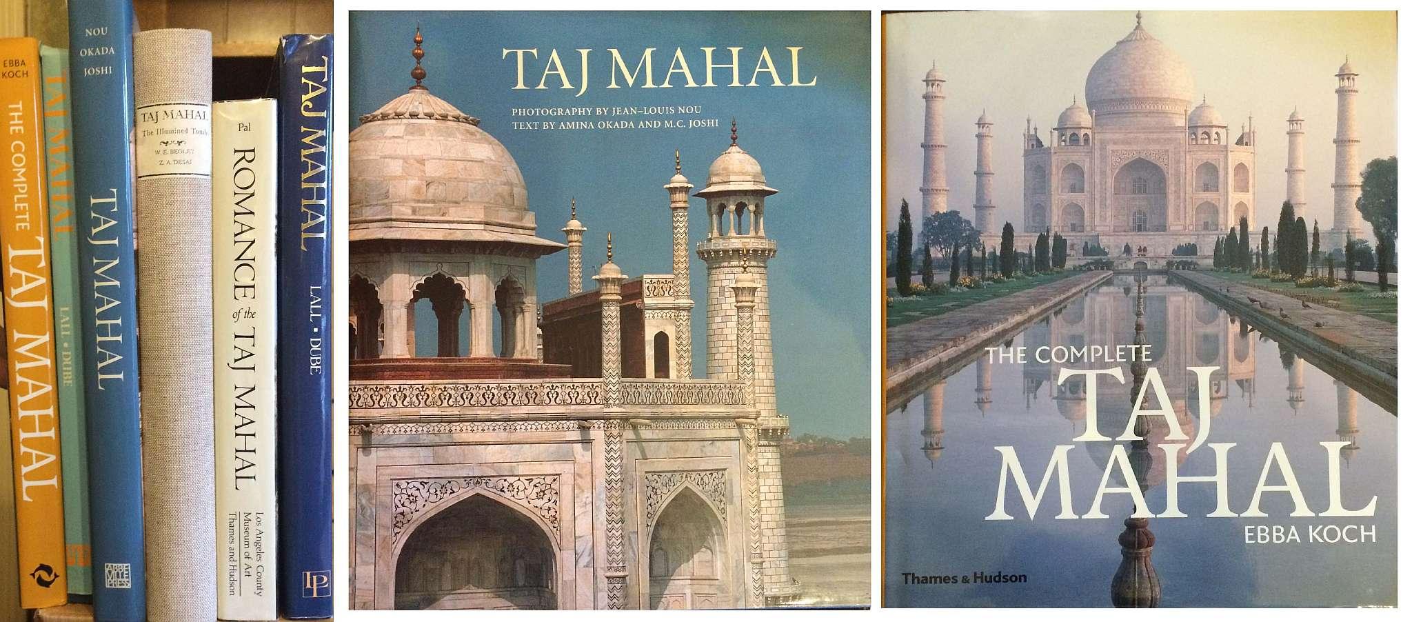 India Pakistan Large Books On The Taj Mahal Six Large