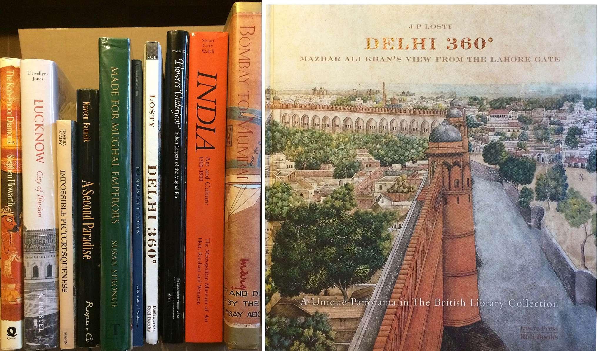 india & pakistan –coffee table books on india flowers underfoot