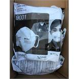 500x 3M 9001 Protective face mask. 50 per bag, 10 bags per carton.
