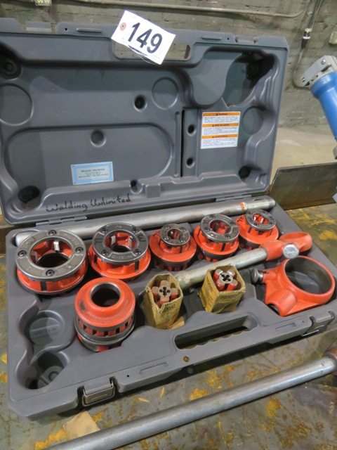 Lot 149 - Ridgid Threading Set