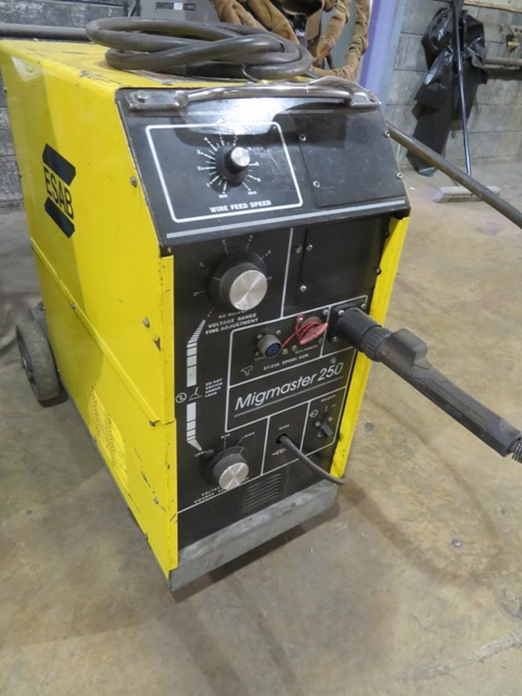 Lot 167 - Esab Migmaster 250 Welder