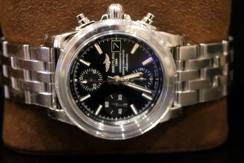 Lot 135 - Gents Breitling Chronomat 38 W13310, Steel bracelet, Automatic movement