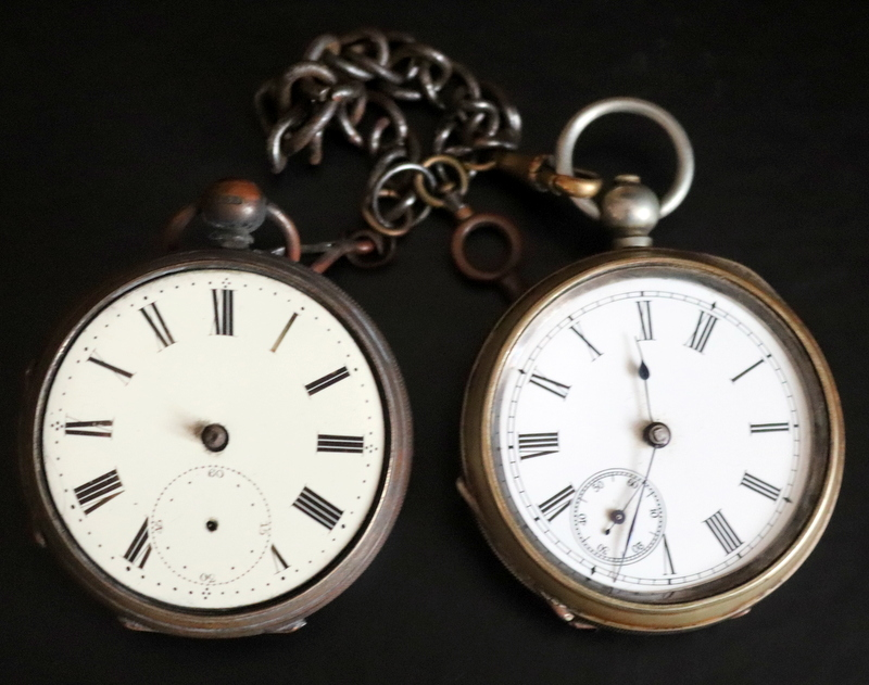 Lot 111 - 2 Gents Pocket Watches For Spare/Repair