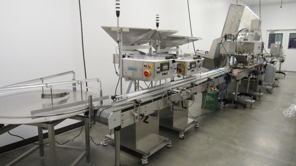 Lot 39 - Complete Bottle Filling Line (4) Bulk Bid