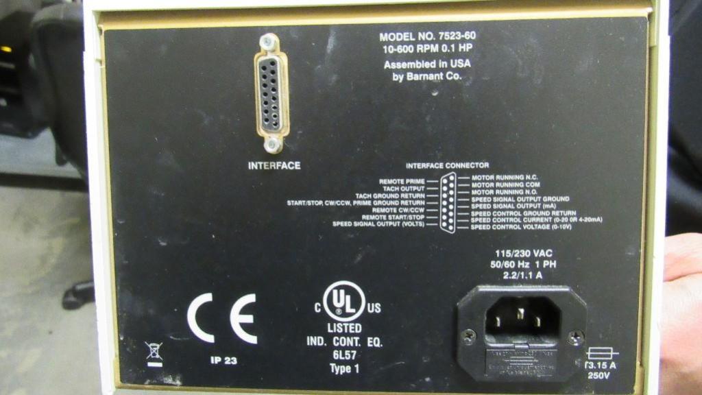 Lot 70 - Masterflex Pump