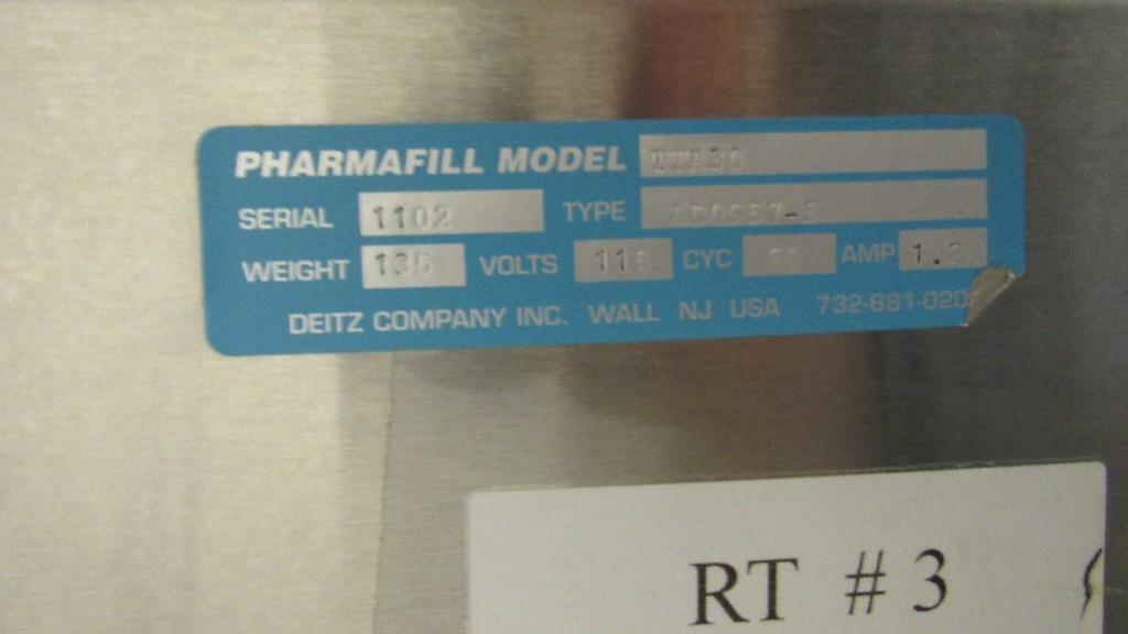 Lot 15 - Pharmafill Turn Table