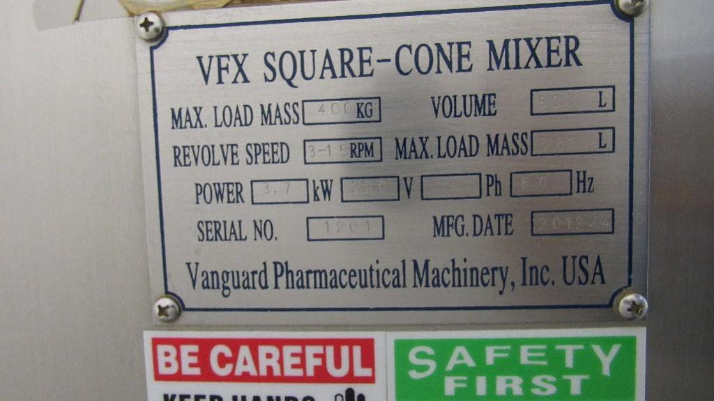 Lot 77 - Vanguard Cone Mixer