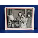 AUTOGRAPH SIGNED BY AMERICAN ACTRESS CLAUDETTE COLBERT ON PUBLICITY PHOTO FROM UNIVERSAL PICTURES