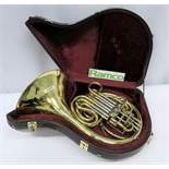Gebr-Alexander Mainz 103 French Horn Complete With Case.