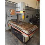 "MARVEL SERIES 8 MARK II HEAVY DUTY METAL CUTTING VERTICAL BAND SAW WITH 18"" THROAT, 20"" MAX. WORK"