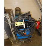 MILLER SYNCROWAVE 250 TIG WELDER WITH CABLES & GUN, S/N: N/A (BUILDING 2)