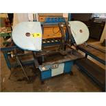 RAM HORIZONTAL BAND SAW WITH ROLLER CONVEYOR AND TABLE (CI, BUILDING 2)