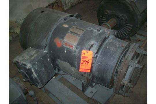 Burton dc motor 30 hp 150 300 volt for 150 hp dc electric motor