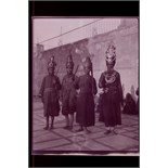 Lot 518 - A paper-pocket album, of 5in x 4in gelatin cut-film silver nitrate negatives of Northern India,