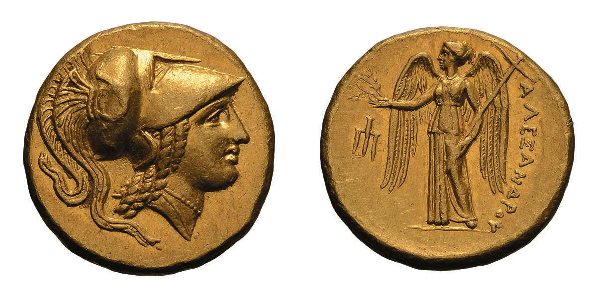Lot 27 - Macedonian Kingdom. Alexander III The Great. 336-323 BC. Stater, 8.62g (8h). Amphipolis, c. 330-