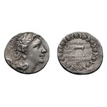 Lot 58 - Pontic, Mithradates VI. Tetradrachm, 16.67g (10h). , 120-63 BC. Year 224= 74/73 BC. Obv: Diademed