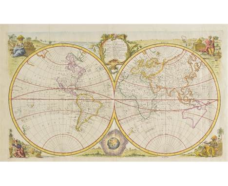 World ( ). Bowen (Emanuel), A New and Accurate Map of the Known World, drawn from the latest and most authentic surveys..., c