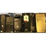 6 x Mixed Lot of Desktop PCs. See description