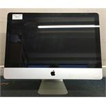 "Apple iMac 21.5"" Computer Core i5 2.5GHz 4GB Ram, 500GB Hard Drive"