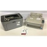 Panasonic Scanner and HP Printer. See Description