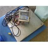 Avery Weigh-Tronix digital scale, Model: E1010, S/N: 064440102 / Rigging Fee: $35