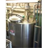 Feldmeier 6ft x 4ft tank w/ Lightnin mixer, 1/4 HP / Rigging Fee: $275