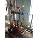 Bell & Gosesett series 3530 Pump w/ 3/4 HP Motor and heat exchanger / Rigging Fee: $65