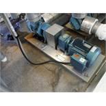 Global Gear pump, Model: 662101 w/ Sew 10 HP Motor / Rigging Fee: $45